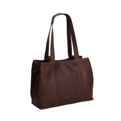 Photo of Leather Shoulder Bag Brown Gail