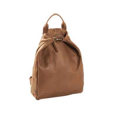 Photo of Leather Backpack T6 Cognac Thomas Hayo