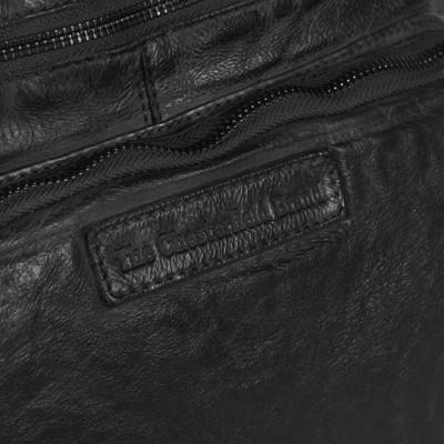 Photo of Leather Shopper Bag Black Romy