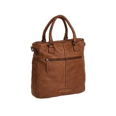 Foto van Leren Shopper Cognac Willow
