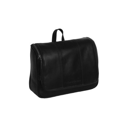 Photo of Leather Toiletry Bag Black Gillian