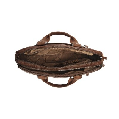 Photo of Leather Laptop Bag Brown Jovi