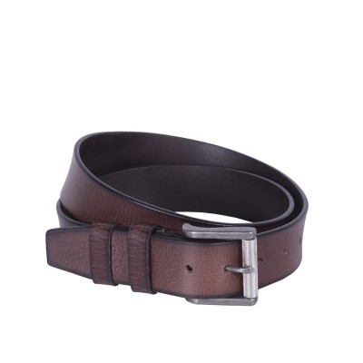 Photo of Leather Belt Aayden Medium Brown
