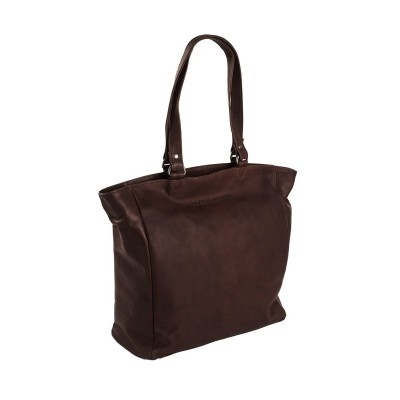 Photo of Leather Shopper Brown Berlin
