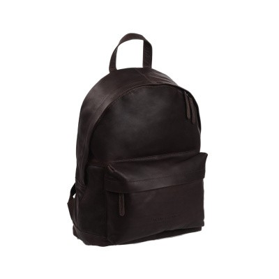 Leather Backpack Brown Medium Andrew