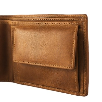 Photo of Leather Wallet Cognac Walid