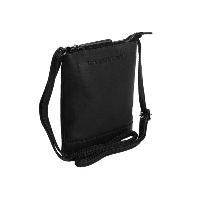 Leather Shoulder Bag Black Jess