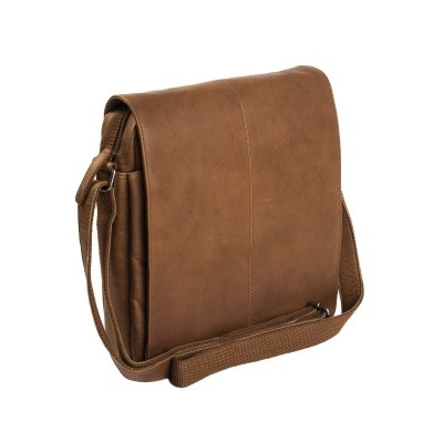 Leather Shoulder Bag Cognac Bowie