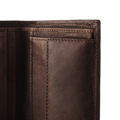 Photo of Leather Wallet Brown Tymon