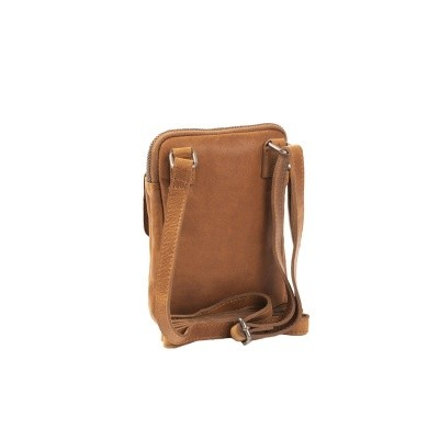 Photo of Leather Shoulder Bag T11 Cognac Thomas Hayo