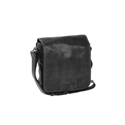 Leather Shoulder Bag Anthracite Aden