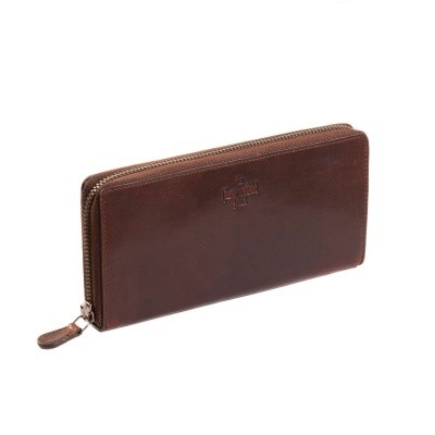 Photo of Leather Wallet Brown Sally