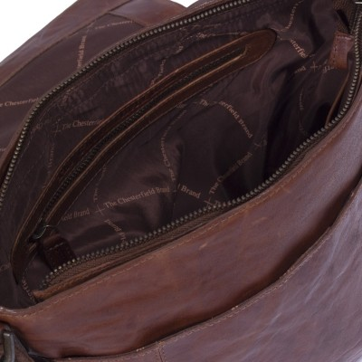 Photo of Leather Shoulder Bag Cognac Maeve