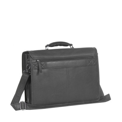 Photo of Leather Laptopbag Black Shay
