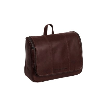 Photo of Leather Toiletry Bag Brown Gillian