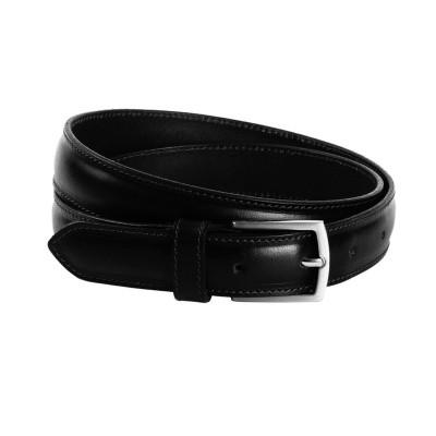 Leather Belt Black Gavin