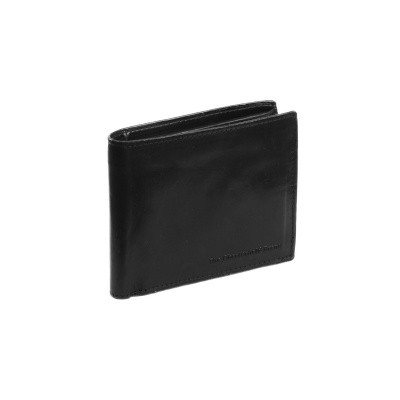 Leather Wallet Black Tom