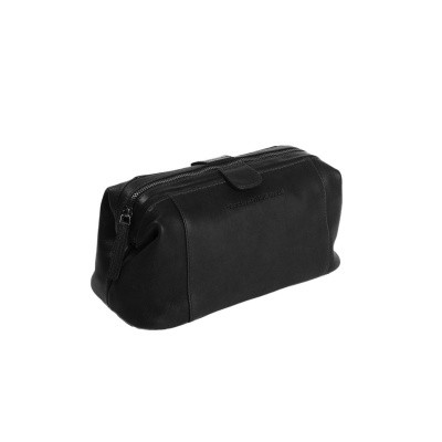 Leather Toiletry Bag Black Vince