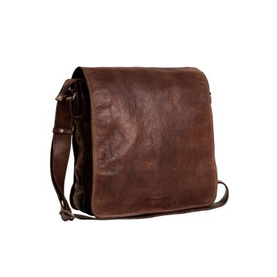 Photo of Leather Shoulder Bag Brown Almada