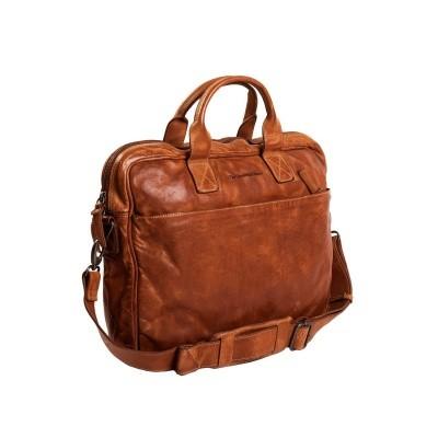 Photo of Leather Laptop Bag Cognac Antwerp