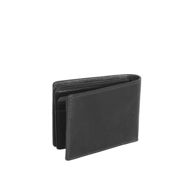 Photo of Leather Wallet Black Martin