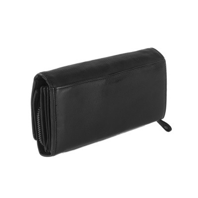Photo of Leather Wallet Black Label Anthracite Andria