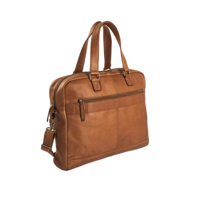 Photo of Leather Laptop Bag Cognac Blackburn
