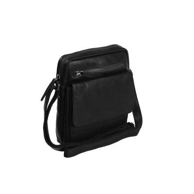 Photo of Leather Shoulder Bag Black Blair