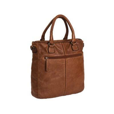Foto von Leder Shopper Cognac Willow