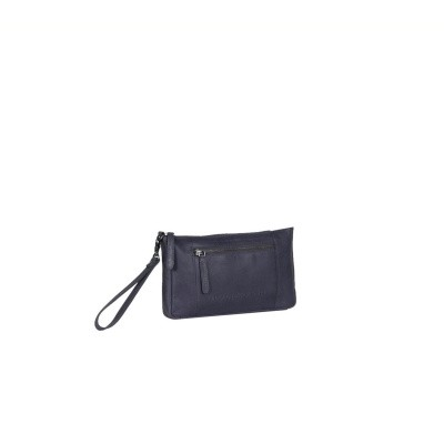 Photo of Leather Clutch Navy Sonia