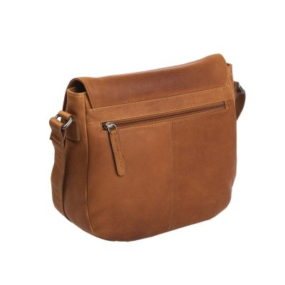 Photo of Leather Shoulder Bag Cognac Yves