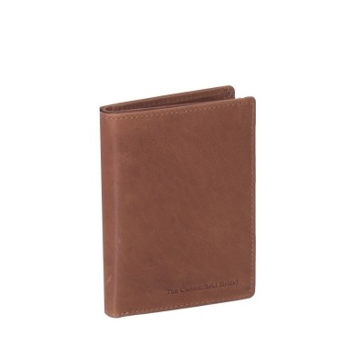 Leather Wallet Cognac Siem