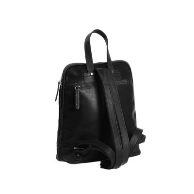 Photo of Leather Backpack Black Naomi