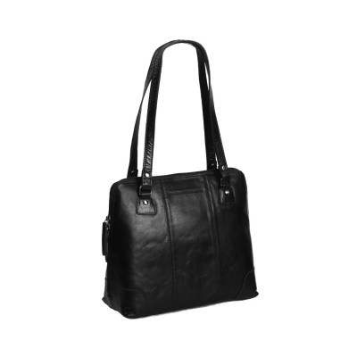 Photo of Leather Shoulder Bag Black Elly