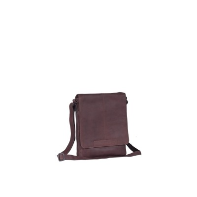Leather Shoulder Bag Brown Bodil