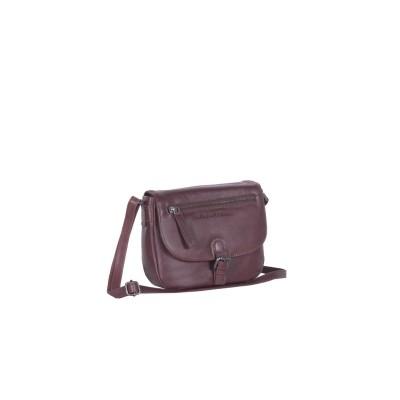 Leather Shoulder Bag Brown Faja