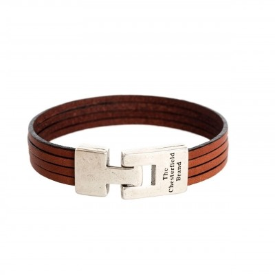 Photo of Leather Bracelet Cognac Katniss