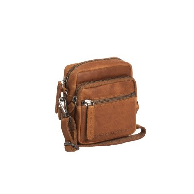 Photo of Leather Shoulder Bag Cognac Kerry