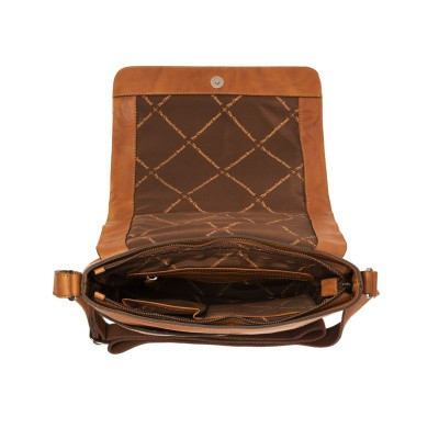 Photo of Leather Schoulder Bag Cognac Marley