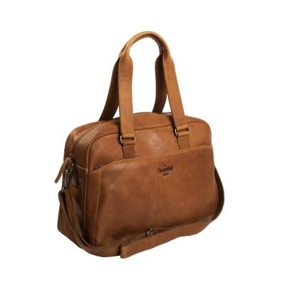 Photo of Leather Shoulder Bag Cognac Adelaide