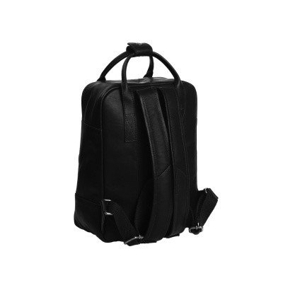 Photo of Leather Backpack Black Bellary