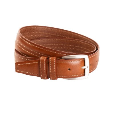 Leather Belt Cognac Lennon