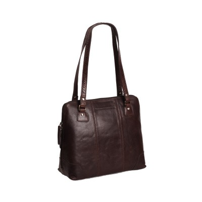 Photo of Leather Shoulder Bag Brown Elly