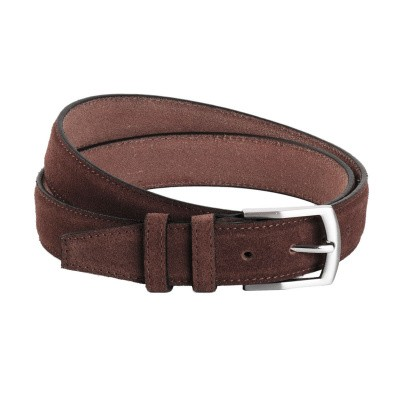 Photo of Leather Belt Brown Lars