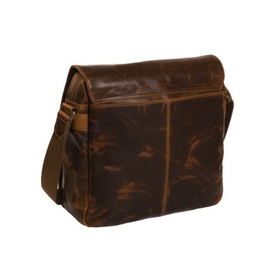Photo of Leather Shoulder Bag Cognac Derby