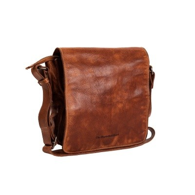 Photo of Leather Shoulder Bag Cognac Aden