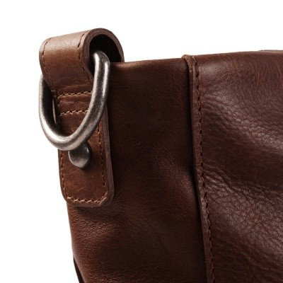Photo of Leather Shoulder Bag Brown Bruges