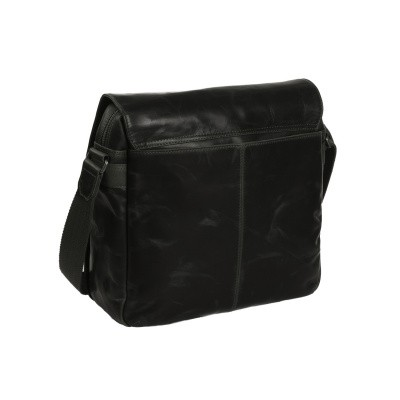 Photo of Leather Shoulder Bag Black Derby