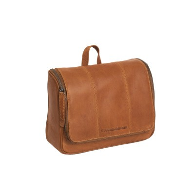 Photo of Leather Toiletry Bag Cognac Gillian