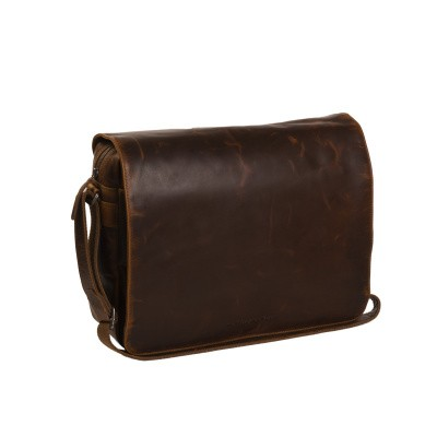 Photo of Leather Shoulder Bag Cognac Denver